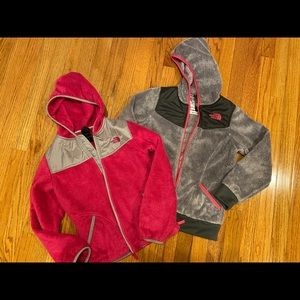 Girl's North Face bundle 10/12